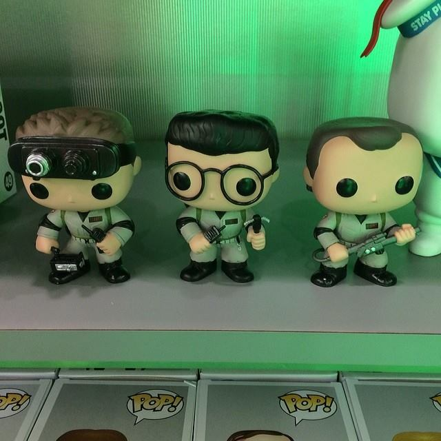 New York Toy Fair Funko Pop Ghostbusters Including Winston