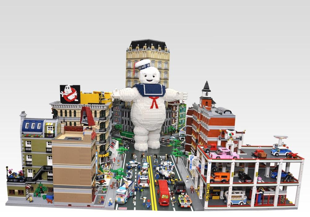 Custom Ghostbusters Lego City (2/2)