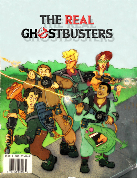 The Real Ghostbusters Jumbo Coloring Book PDF