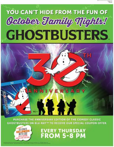 Ovation Brands Ghostbuster Family Night