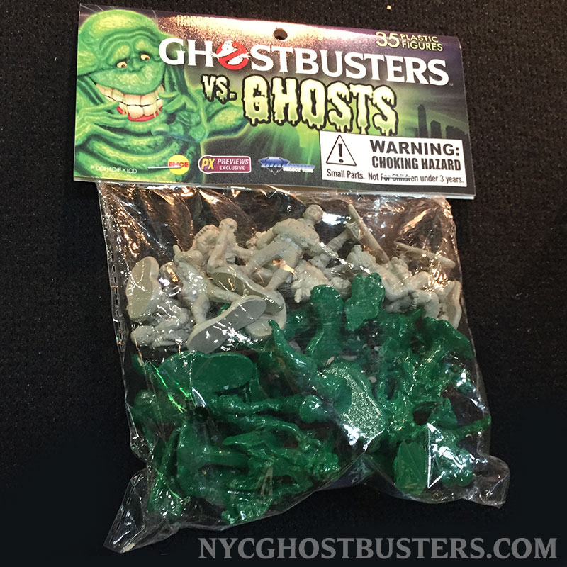 New York Toy Fair: Diamond Select Toys Ghostbusters Vs Ghosts (1/2)