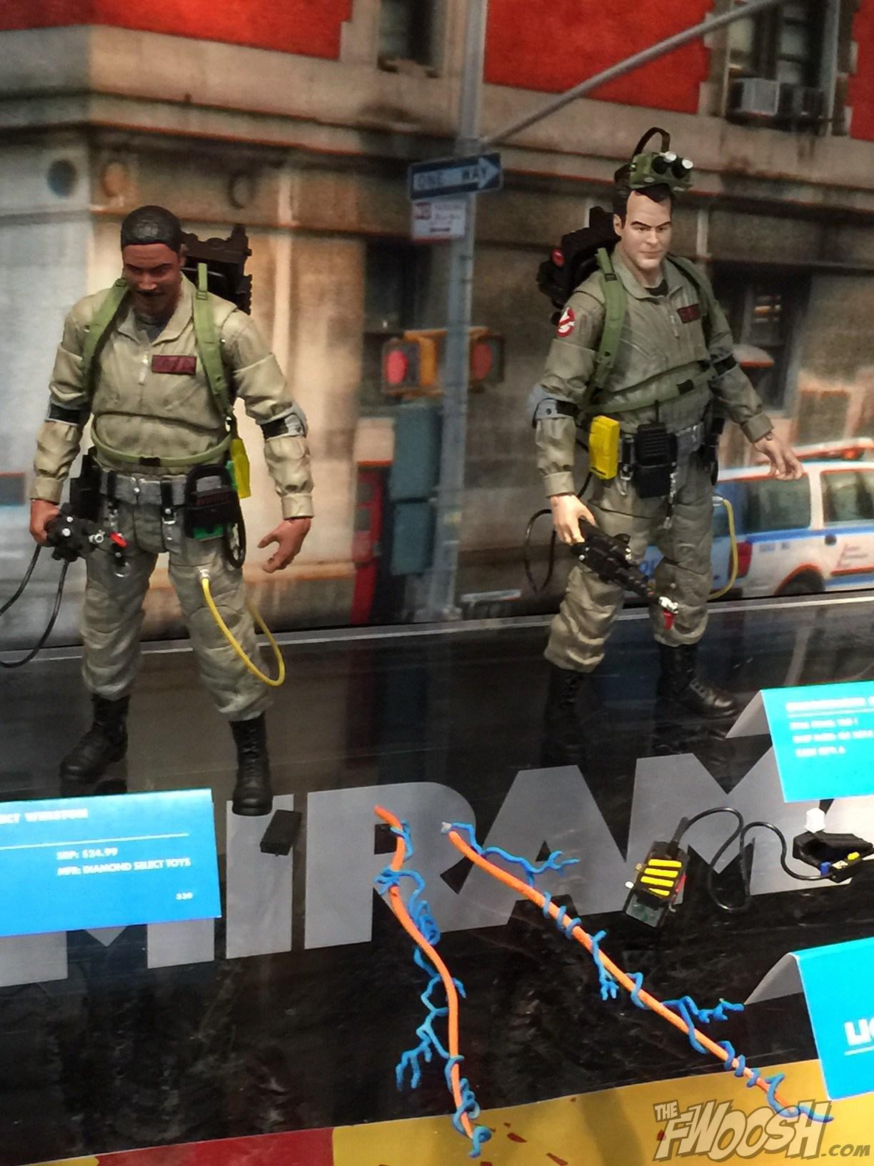 New York Toy Fair: Diamond Select Toys Ghostbusters Figures