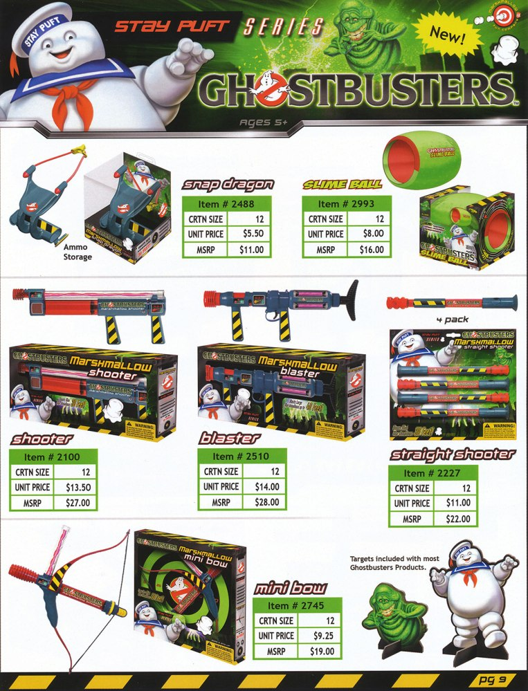 New York Toy Fair: Ghostbusters Marshmallow Fun Booth (2/2)