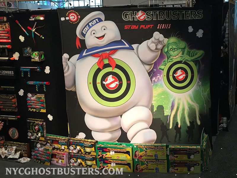 New York Toy Fair: Ghostbusters Marshmallow Fun Booth (1/2)